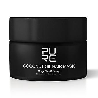 Coconut Oil Repairs Damage Deep Conditioning Mask Scalp Treatment For Hair Care
