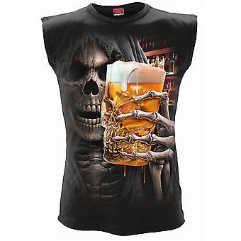 Live Loud Sleeveless T-Shirt Noir