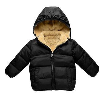 Giacche winter kids, berretto in pile rimovibile Super Soft Warm's Coat