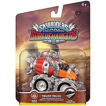 Skylanders supercarregadores bater veículo caminhão