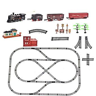Diy Assemble Electric Train And Track Model Set