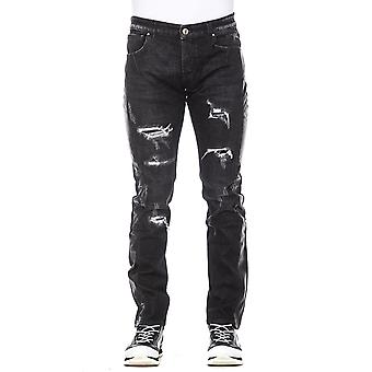 Black Jeans Men Man