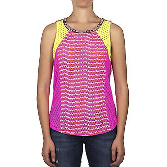 Custo Barcelona Women Tank top Rewest Rebis Multicolor