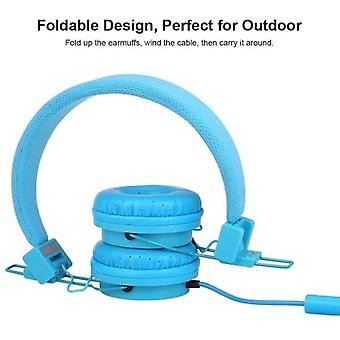EP05 Portable Foldable Wired On-ear Headset with Mic