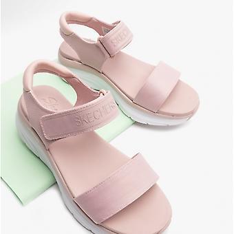 Skechers D'lux Walker New Block Naisten Platform Sandaalit Poskipuna