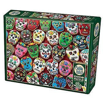 Cobble hill puzzle - sugar skull cookies - 1000 pc