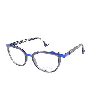 Face A Face Eyeglasses Frame BOCCA CHIC 1 Col. 9620 Acetate Dark Violet Mauve