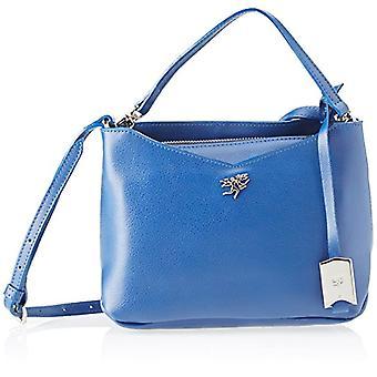 piero guidi 210791082, Women's Crossbody Bag, Blue (Dark Night), 24.5x17.5x11 cm (W x H x L)
