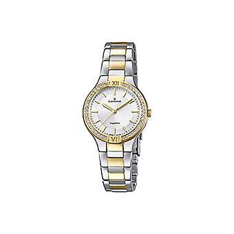 Women's Analog Quartz Watch With Stainless Steel Strap C4627/1