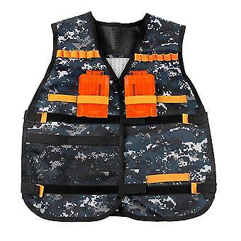 Gyerekek Taktikai Vest Kids Jacket Taktikai Nerf N-strike Elite Series Kids