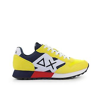 Sun68 Jaki Bicolor Yellow Sneaker