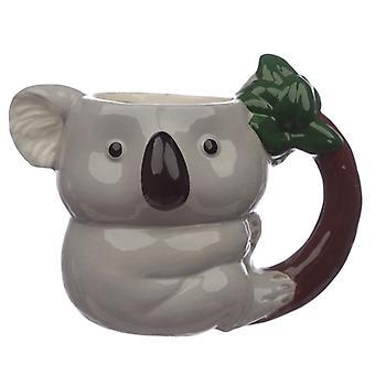Koala geformtGriff Keramik Becher