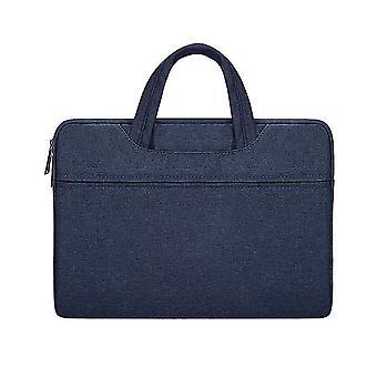 13.3Inch 35 * 26 * 3cm laivaston vedenpitävä ja kulutusta kestävä kannettava laukku, 15.6inch Apple Macbook, huawei, lenovo az20105