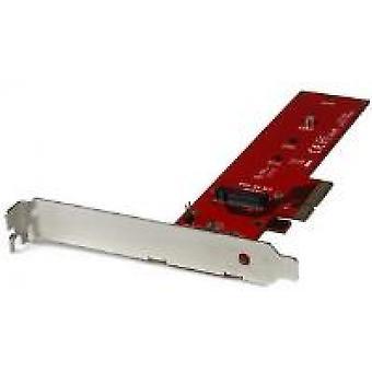 StarTech x4 PCI Express naar M.2 PCIe SSD-adapter