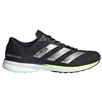 adidas Adizero Adios 5 miesten fitness juoksu kouluttaja kenkä musta /hopea