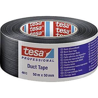 tesa 04610-00004-00 Klud tape tesa® Gaffatape Sort (L x W) 50 m x 50 mm 1 stk(er)