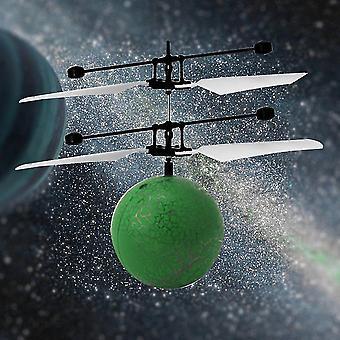 Rc Infrarot Induktion Hubschrauber Flugzeug Fliegender Ball mit Led Kid Spielzeug