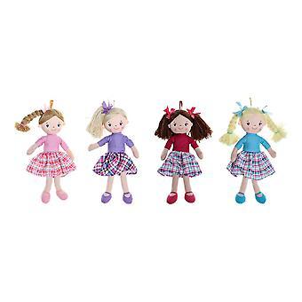 Rag Doll DKD Home Decor (4 pcs) (23 x 10 x 40 cm)