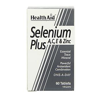 HealthAid Selen Plus Tabletten 60 (801365)
