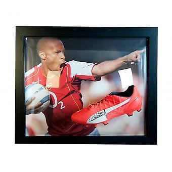 Arsenal FC Henry Bota firmada (enmarcada) Producto con licencia oficial