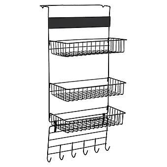 Jääkaapin hylly sivuhylly sivupinnan pidike Monitoimiset keittiötarvikkeet pitimet & telineet