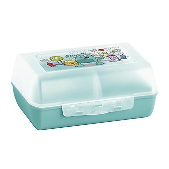 514482 Variabolo Clipbox, BPA free, size 16 x 11 x 7 cm, mint/Monster