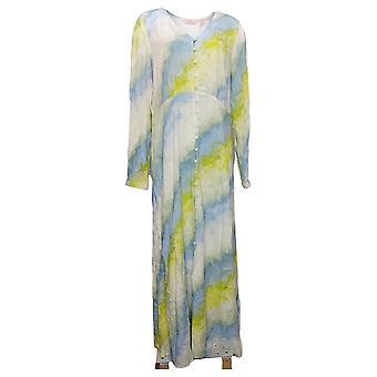 Laurie Felt Women's Dress Regular Long Sleeve Maxi Blue A377562