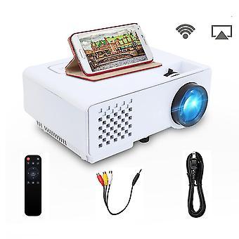 65w מיני Led Wifi מקרן דיגיטלי -2800 לומן Full Hd 480dpi