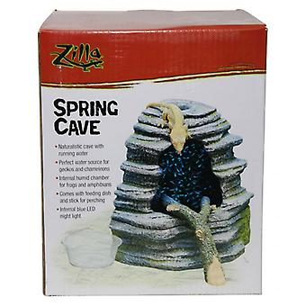 Zilla Spring Cave Reptile Decor - 1 Count