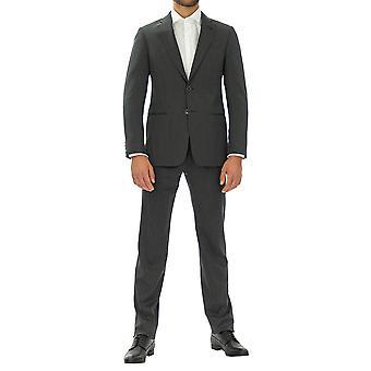 Emporio Armani Män Kostym Vrist längd Full ärm Grå