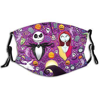 5szt Zmywalne maski Pyłoszczelna maska na twarz na kostium na Halloween
