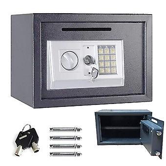 16l Security Safe Cash Box Cabinet Safe With Digital Keypad
