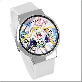 Waterproof Luminous Led Digital Touch Watch - Sailor Moon
