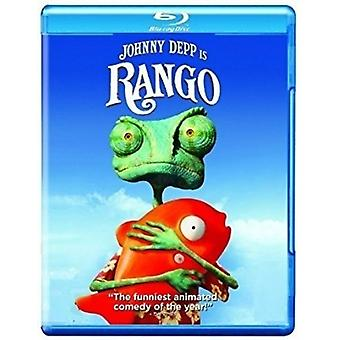 Rango [Blu-ray] USA import