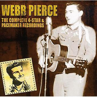Webb Pierce - Kapitän 4 Sterne & Herzschrittmacher [CD] USA Import