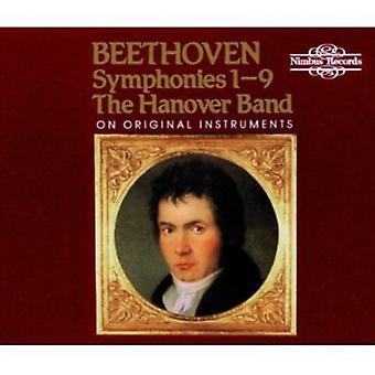 L.V. Beethoven - Beethoven: Symfonier nr 1-9 [CD] USA import