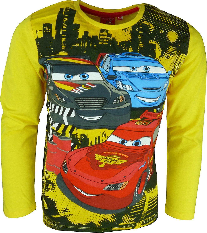 Boys Disney Cars Lightning McQueen | Long Sleeve Top