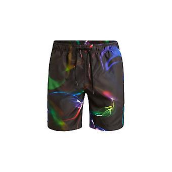 Bjorn Borg Northern Lights Smokin' Swim Shorts, Black