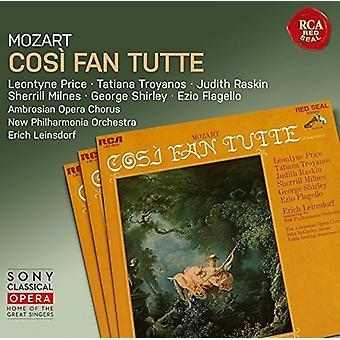 Leinsdorf - Cosi Fan Tutte [CD] USA import
