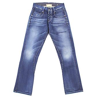 G-Star Radar Tapered Rope Track Destroyed Cleve Denim Jeans