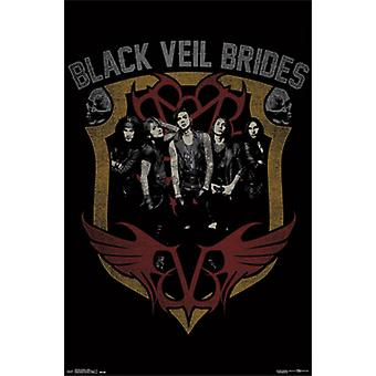 Black Veil Brides - Shield Poster Poster Print