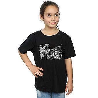 AC/DC Girls Badges And Posters Collection T-Shirt