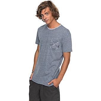 Quiksilver Broken leash kortärmad T-shirt i Navy Blazer Heather