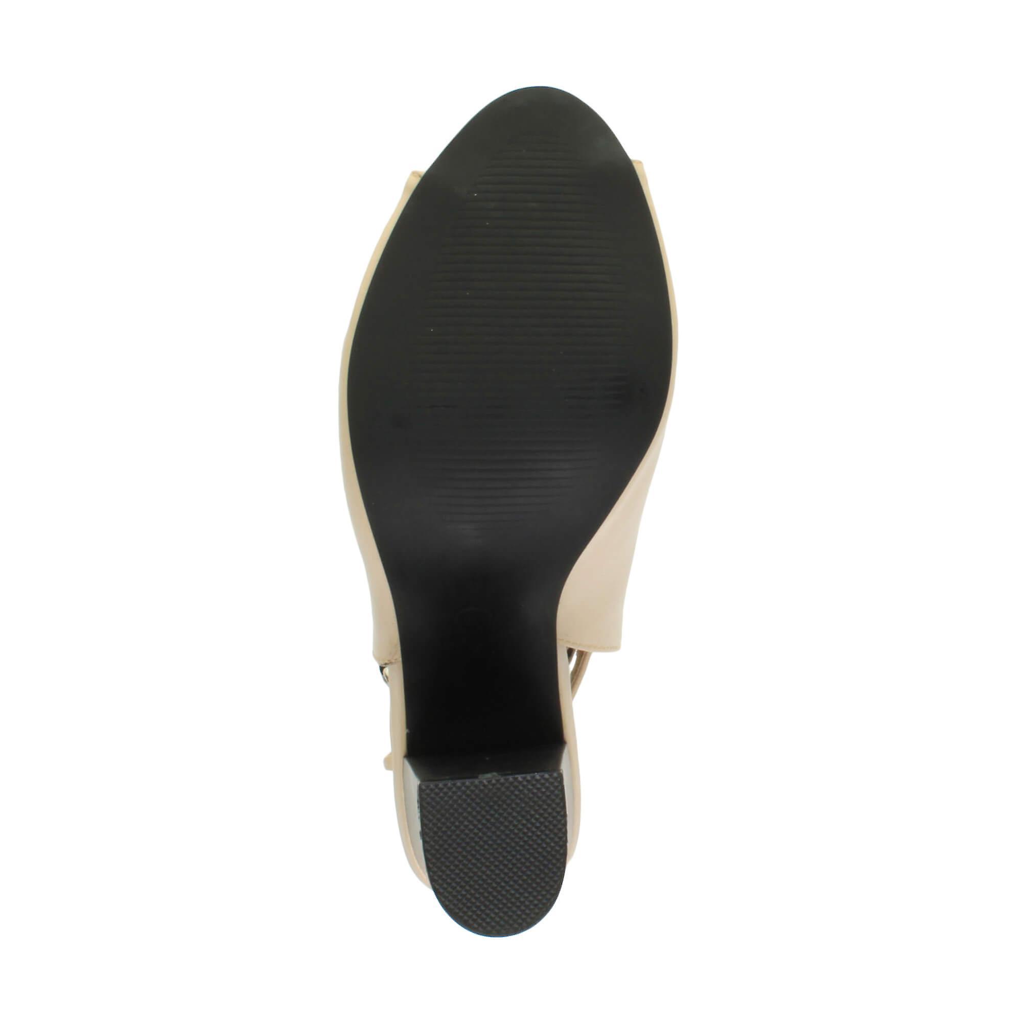 Ajvani Womens Bloc Haut Talon Peep Toe Cheville Sangle Boucle Ouverte Dos Découpe Bottes Chaussures