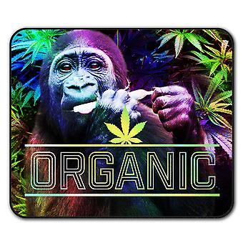 Tappetino per Mouse di antiscivolo Rasta Cannabis organica Pad 24 x 20 cm | Wellcoda