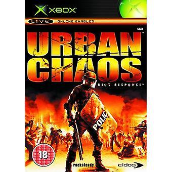 Urban Chaos (Xbox) - Nouveau