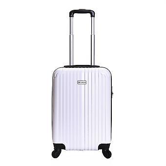 Slimbridge Borba maleta dura de 55 cm, blanco perla