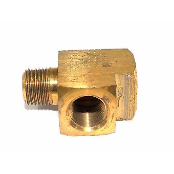 Big A Service Line 3-22720 Brass Pipe Tee Fitting 1/8