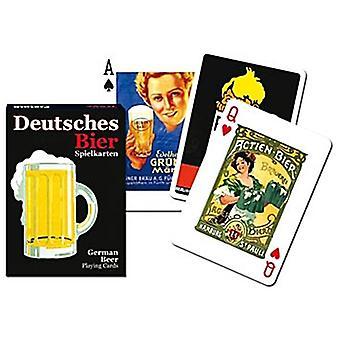 Saksan Bier joukko pelikortteja + Jokerit