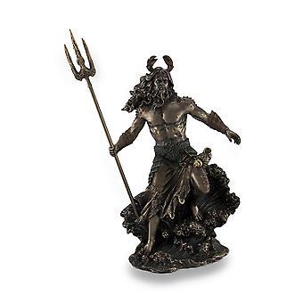 `Oceanus` The Ocean Ruler Bronzed Sculptural Statue